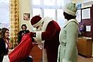 Дед Мороз в школах 2013.